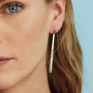 NEW KENDRA SCOTT Melissa Gold Statement Earrings